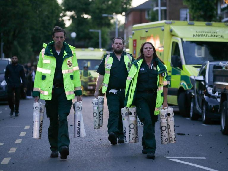 Grenfell fire: Health officials 'showed troubling lack of urgency' over health ris ...