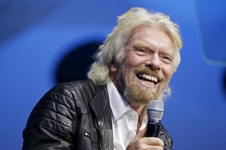 Richard Branson reveals the three companies he most admires