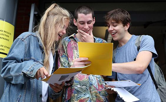 A-level results day and UCAS clearing: Universities accept thousands fewer students as pass rates hit lowest level since 2010 - as it happened