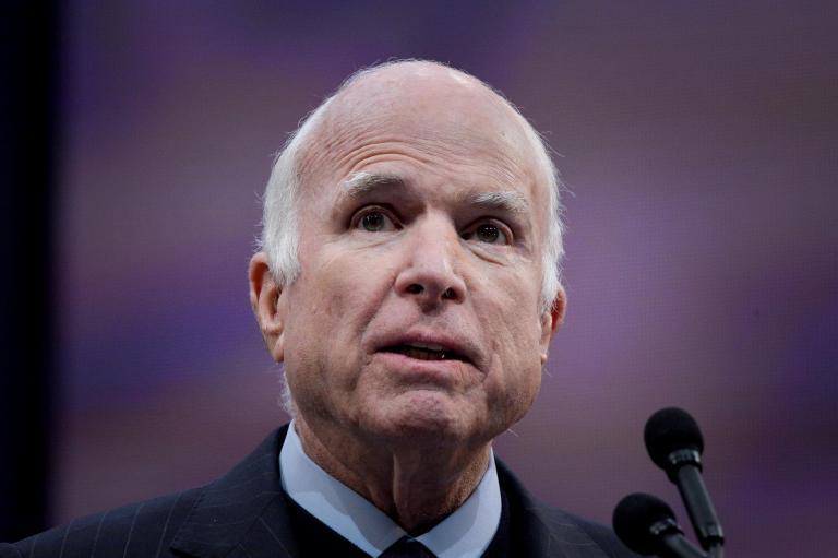 John McCain appears to criticise Donald Trump for 'draft dodging' Vietnam War service