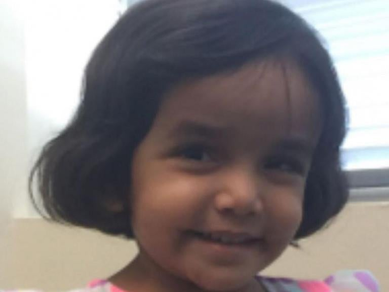 Father of missing 3-year-old Sherin Mathews charged after child's body found