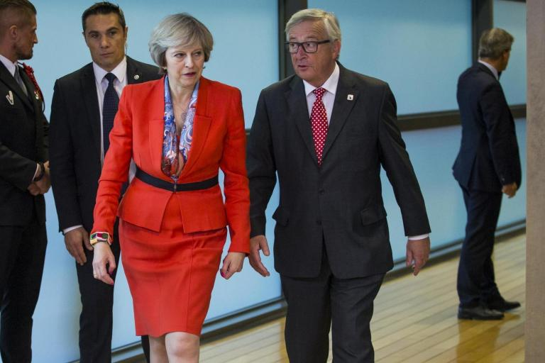Theresa May 'begged' Juncker for help on Brexit at private Brussels dinner, leak claims