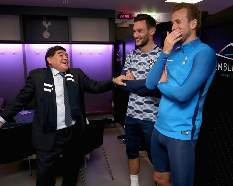 Harry Kane reveals Maradona's influence as he enters goalscoring realms of Cristiano Ronaldo and Lionel Messi