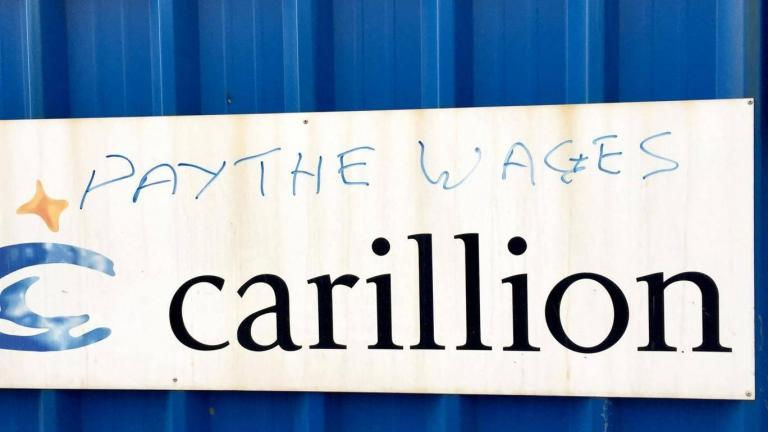 Labour vows tougher rules to strip 'rogue suppliers' of outsourced contracts after Carillion's collapse