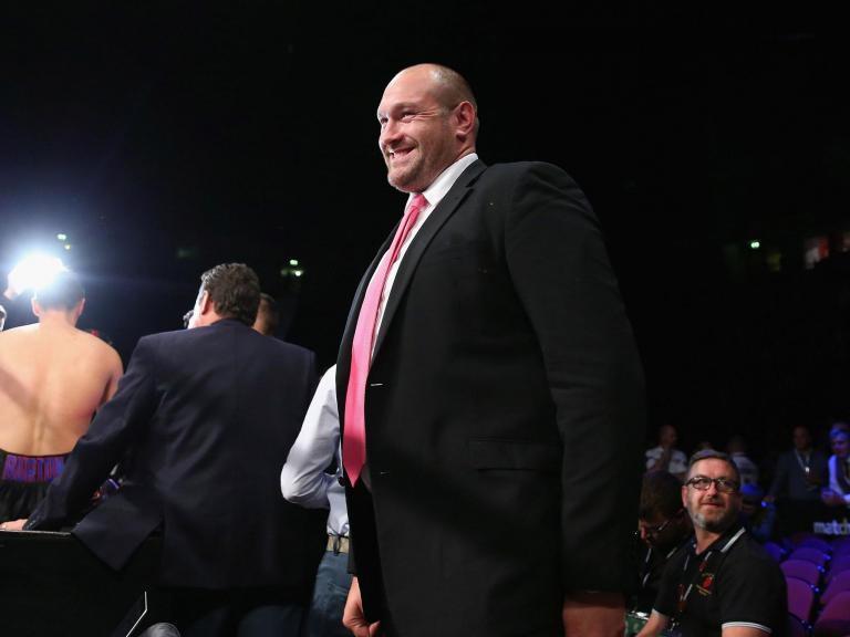 'He's like a changed boy': Tyson Fury's moment of kindness leaves young autistic fan delighted