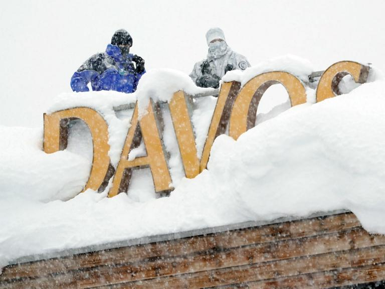 Davos 2018: Swiss authorities ban protests outside World Economic Forum citing snow