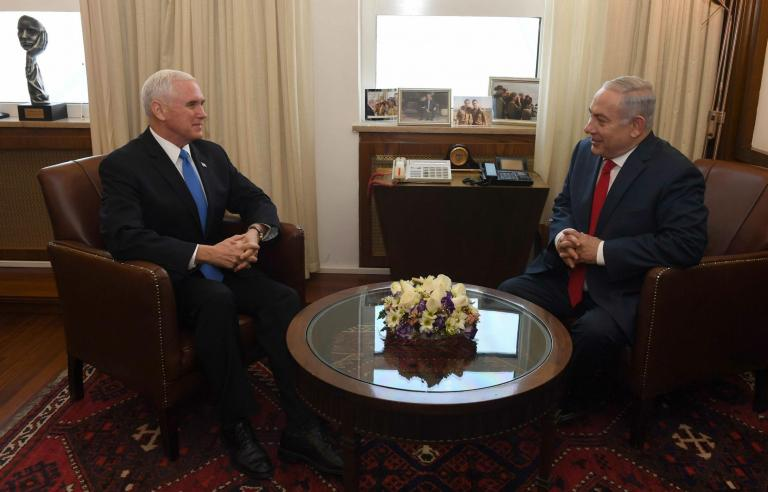 Mike Pence's Israel visit shows that Donald Trump is prepared to weather criticism over Jerusalem decision
