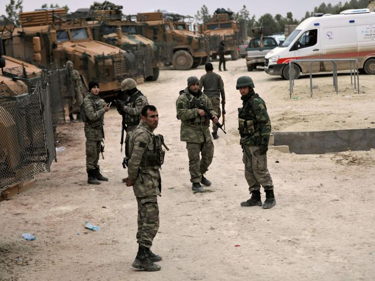 Kurdish forces in Syria launch powerful counterattack to set up extended battle against Turkey