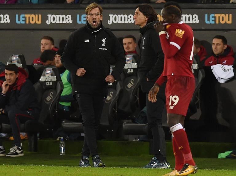 Jurgen Klopp leaves Swansea having picked two fights and lost them both