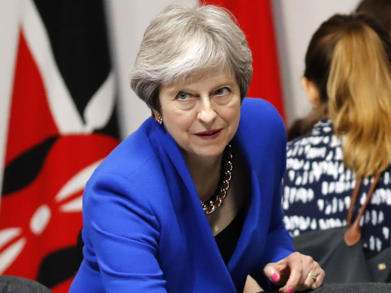 The Conservative party's inability to agree on the EU Withdrawal Bill might cause the downfall of Theresa May