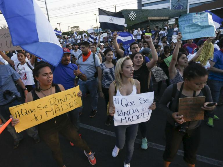 Nicaragua riots: US State Department pull embassy staff out of the country amid mass violence