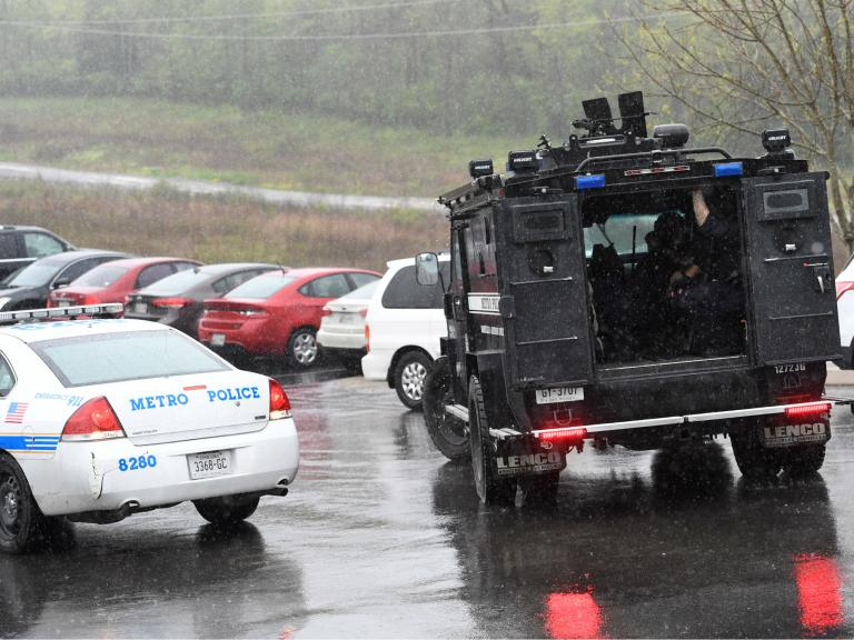 Nashville Waffle House shooting: Hunt continues for suspect who stole car and escaped police chase