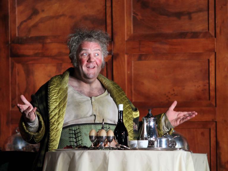 Falstaff, Royal Opera House, London, review: Plodding and earthbound, despite Bryn Terfel
