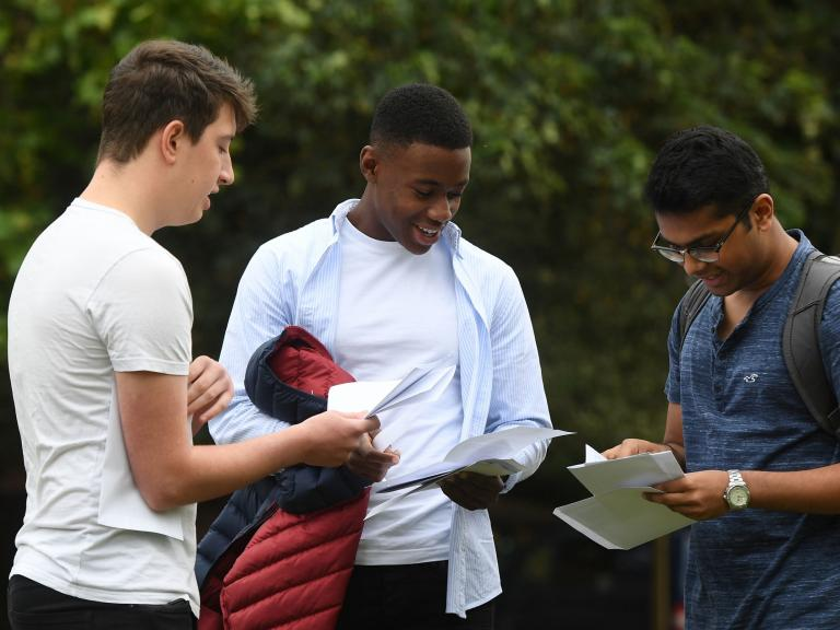 A-level results day: Fears grow over unconditional university offers as some students stop attending school