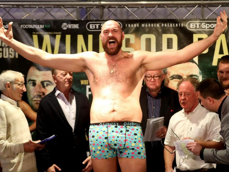 Deontay Wilder and world title redemption awaits but will the real Tyson Fury please stand up