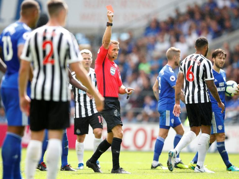 Cardiff vs Newcastle LIVE: Isaac Hayden is sent-off for tackle on Josh Murphy as Kenedy misses last-minute penalty
