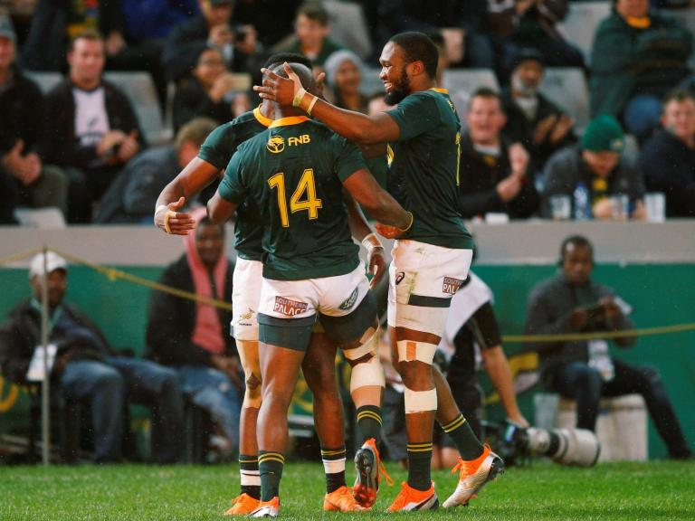 South Africa's second-half blitz holds off Argentina fightback to give Rassie Erasmus a winning start in Rugby Championship