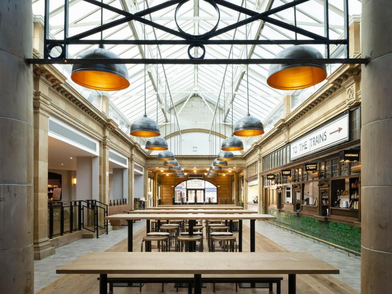How a new wave of food halls became the high street's hottest place to eat