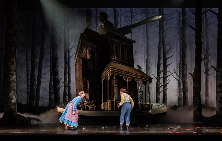 Hansel und Gretel review, Royal Opera House, London: Director Antony McDonald allows his imagination free rein