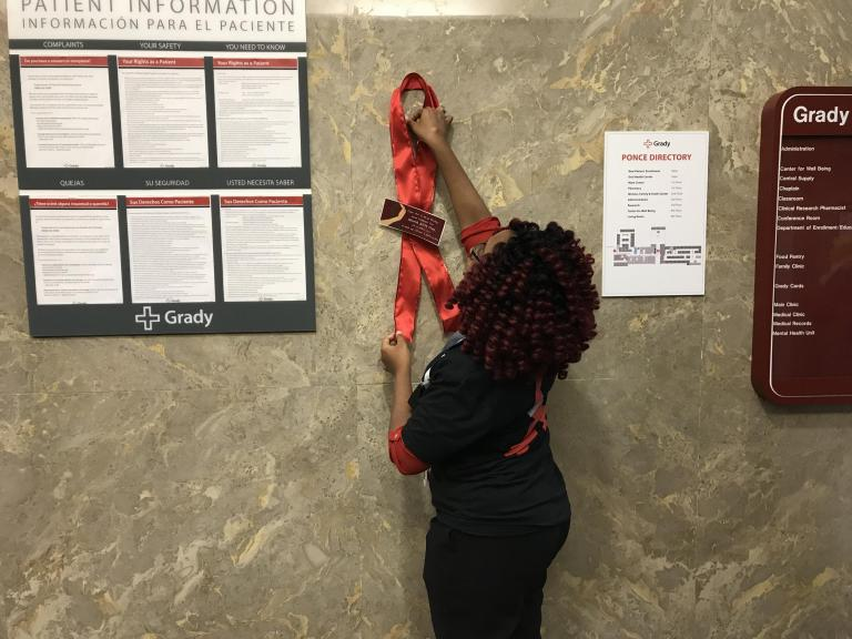 The grim reality of Atlanta's Grady hospital, where 100 people die a year from Aids, despite doctors' tireless efforts to save them