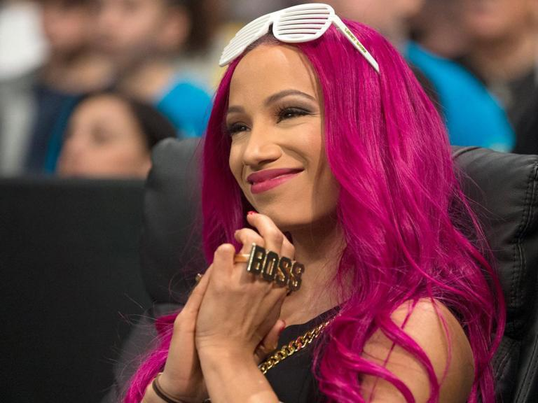 Sasha Banks calls for the top WWE stars to mix it up with NXT's emerging talent