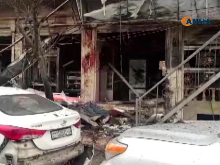 Syria attack: Isis claims suicide bomb targeting US military patrol
