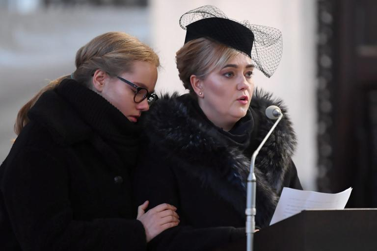 Gdansk archbishop calls for unity as thousands gather for funeral of murdered mayor Pawel Adamowicz