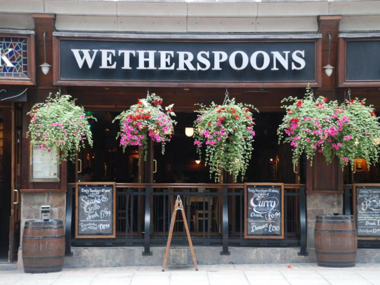 Wetherspoon set to reopen pubs and hotels 'in or around June' despite no current government plan to lift lockdown