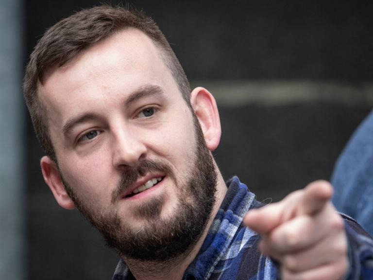 James Goddard: 'Yellow vest' protester calls journalists 'scumbags&ap ...