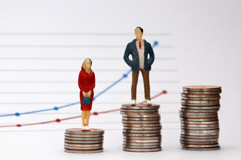 What is the gender pay gap and how is it different from equal pay?