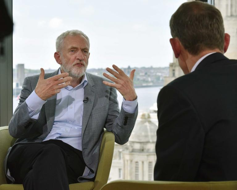 Brexit: Jeremy Corbyn says free movement would be up for negotiation if Labour in charge of talks