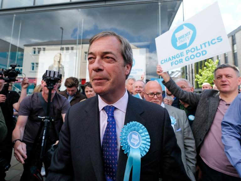 Electoral Commission launches review into Brexit Party donations and will visit headquarters