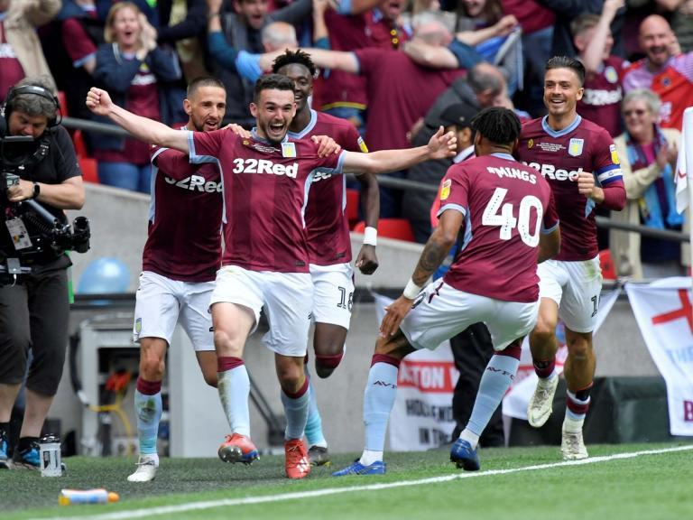 Aston Villa vs Derby result: Villains survive late scare to earn promotion to Premier League