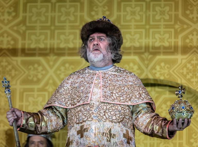 Boris Godunov review, Royal Opera House: A magnificent and quintessentially Russian rendering