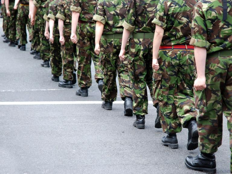 'White middle-aged men' leading armed forces blamed for bullying culture in new re ...