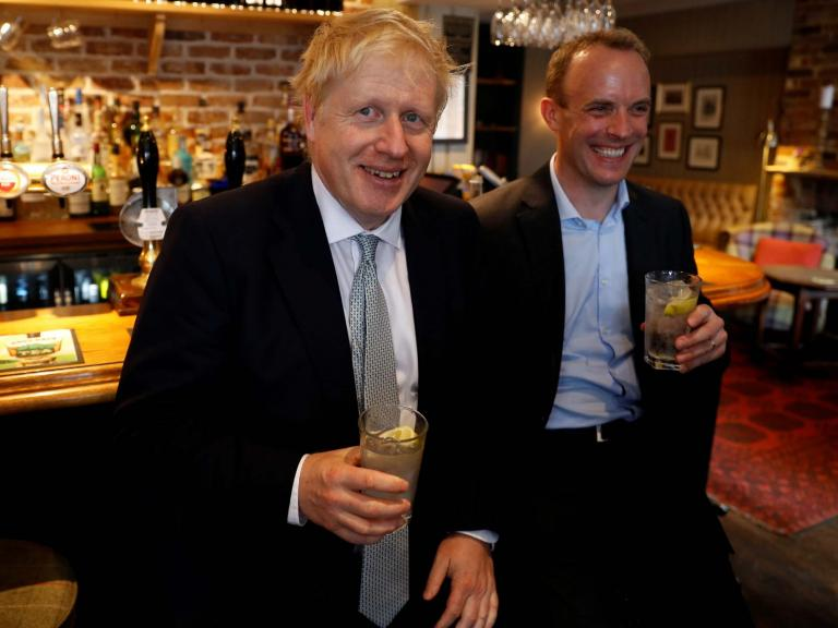 Tory minister says 'no one gives a toss' about fake fact checker set up by officia ...