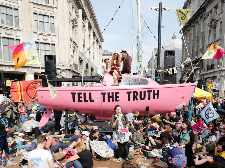 Extinction Rebellion protesters to blockade Dover port this weekend