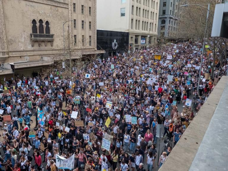 Climate strike – live: Millions across world demand urgent action to save planet in largest environm ...