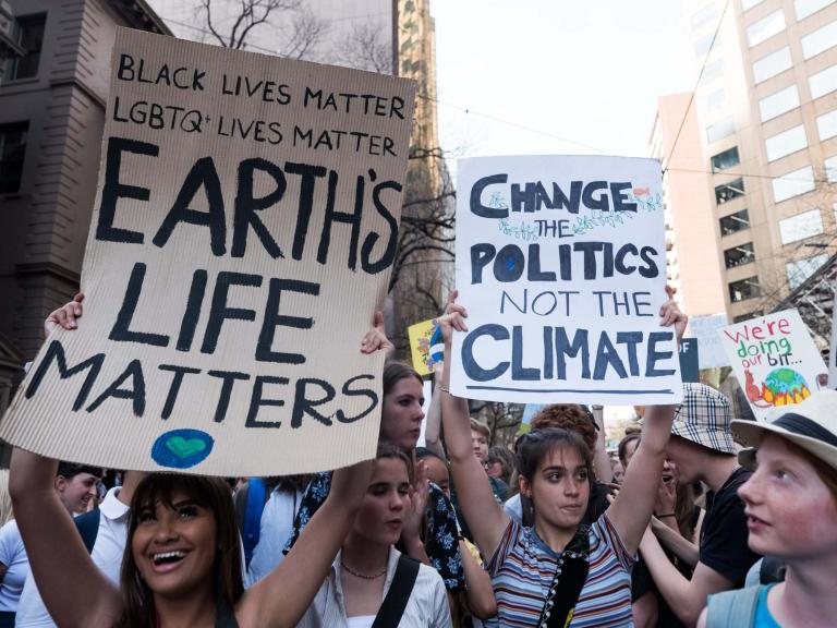 Global climate strike begins with huge crowds in Australia and millions more set to take to streets ...