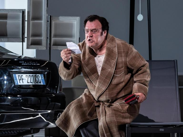 Don Pasquale, Royal Opera House review: Distractingly dreamy yet rescued by its performances