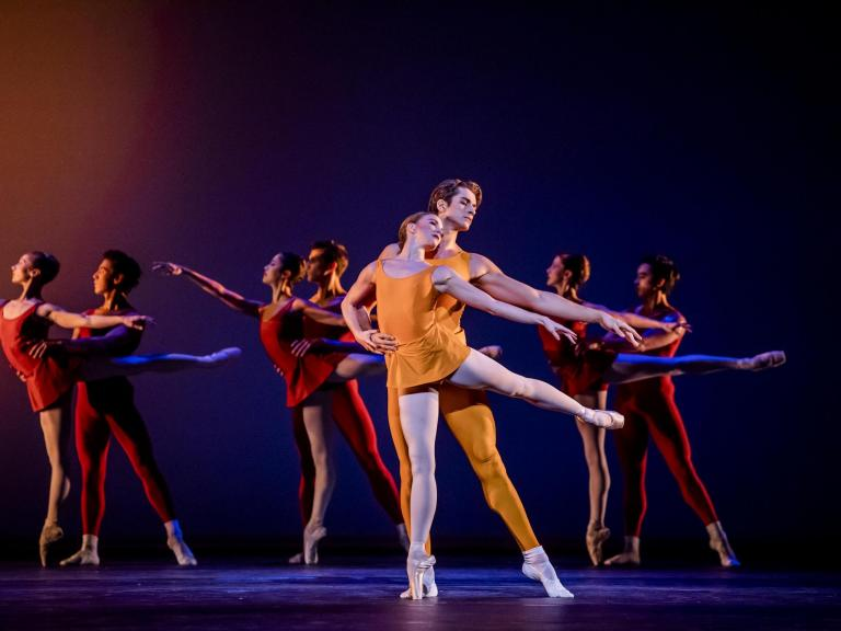 The Royal Ballet review: A sunlit and sparkling triple bill with a touch of autumnal warmth