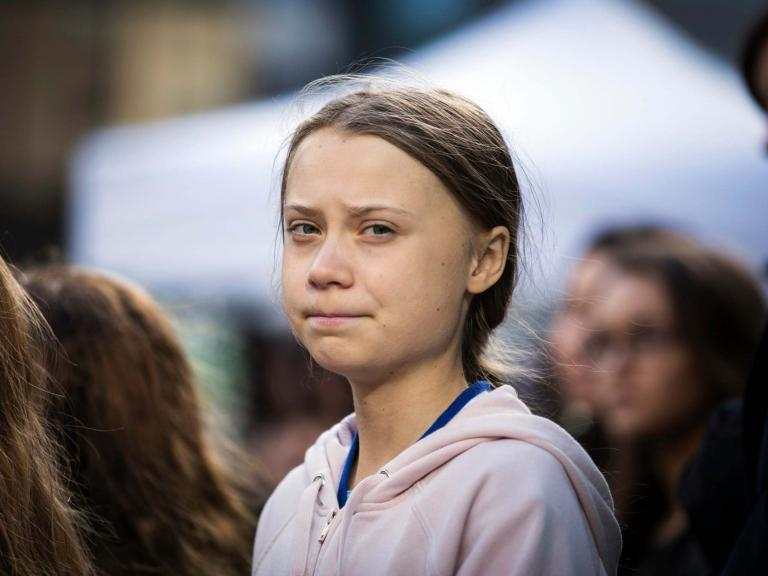 Greta Thunberg: Children's book about teenage climate activist shortlisted for Blue Peter prize