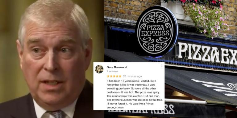 Prince Andrew Wokings Pizza Express Flooded With Fake