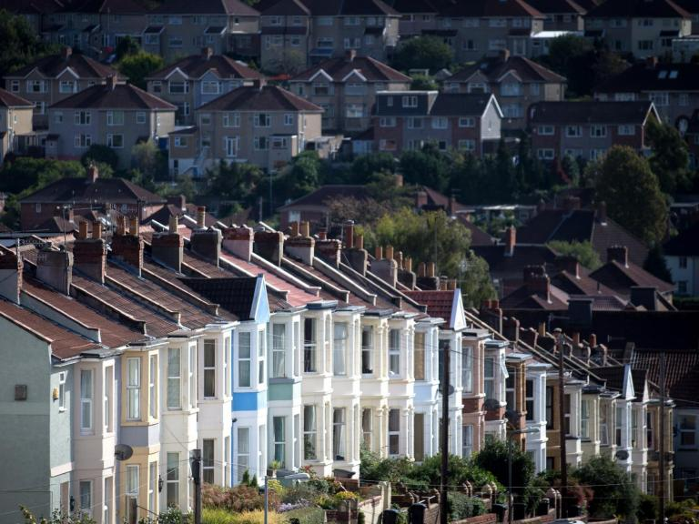 House prices rising at fastest rate in two years, index says
