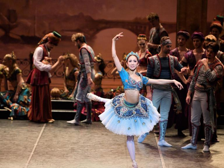 Le Corsaire review, London Coliseum: Performed with gusto and packed with bravura steps
