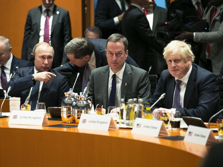 Boris Johnson tells Putin there will be no normalisation of UK-Russia relationship until 'd ...