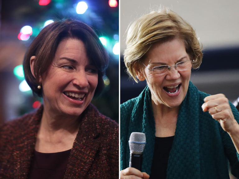 US election: New York Times endorses both Elizabeth Warren and Amy Klobuchar for Democratic nominee