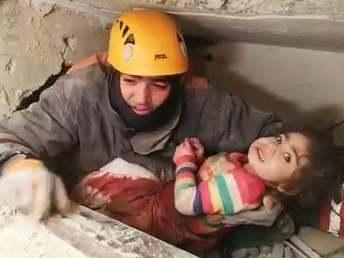 Turkey earthquake: Two-year-old pulled from rubble as death toll rises to 31