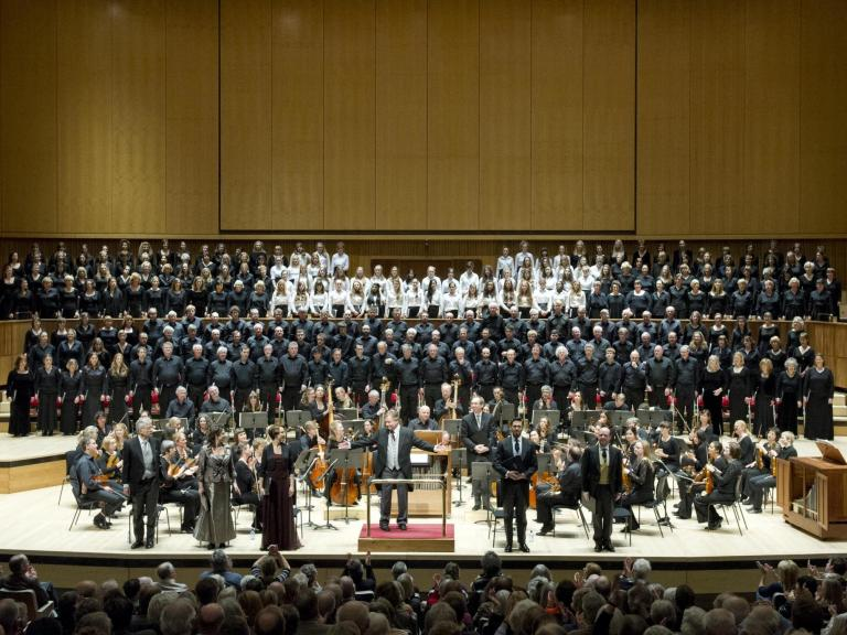 Bach Choir and the Orchestra of the Age of Enlightenment review, Royal Festival Hall: A magnificent show with moments of heart-stopping beauty