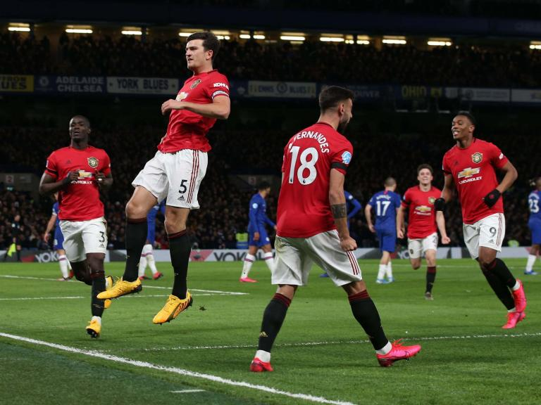 Chelsea vs Manchester United result: Anthony Martial and Harry Maguire blow open top-four race